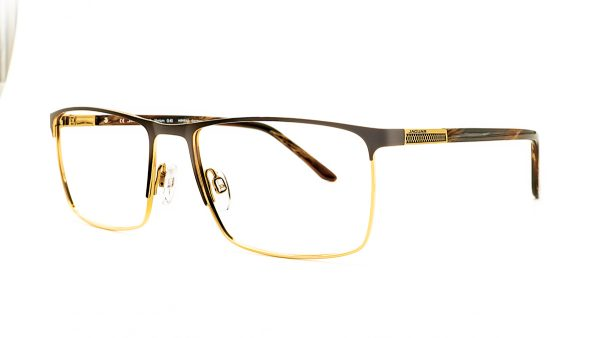 Jaguar Brown Metal Glasses Mod.35051-1087