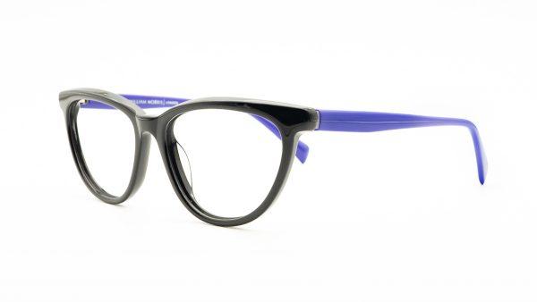 William Morris Black Plastic Glasses 6971