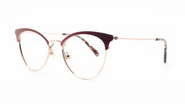 William Morris Red Metal Glasses LN50120
