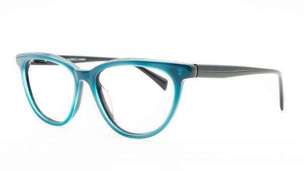 William Morris Blue Plastic Glasses 6971