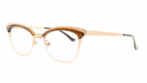 William Morris Brown Metal Glasses LN50059