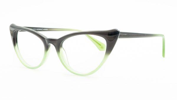 William Morris Green Plastic Glasses 6974