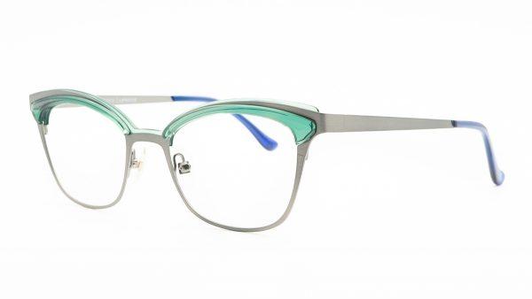 William Morris Green Metal Glasses LN50059