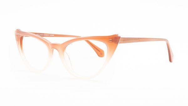 William Morris Brown Plastic Glasses 6974