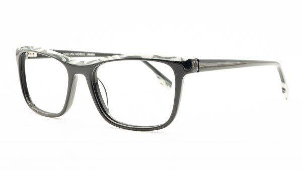 William Morris Black Plastic Glasses 50052