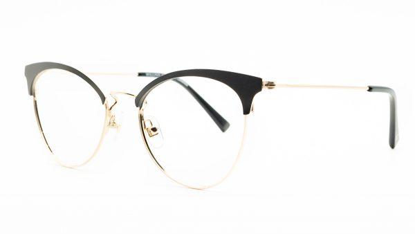 William Morris Black Metal Glasses LN50120