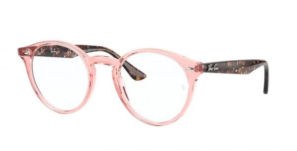 ray-ban glasses plastic 2180 pink