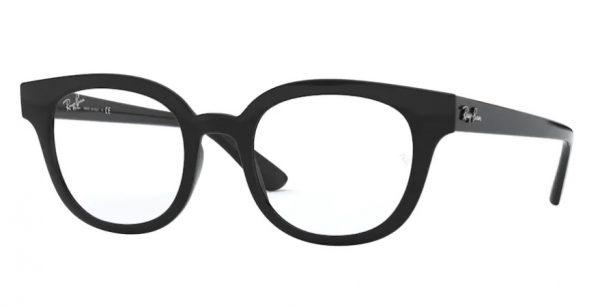 ray-ban plastic black 4324