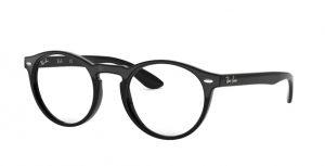 ray-ban glasses plastic 5283 black