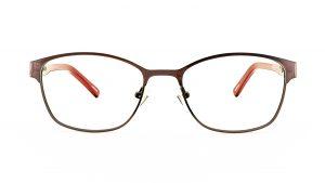 Ventice Red Metal Glasses VP1569