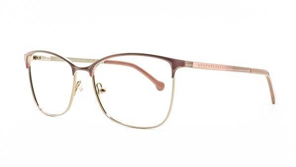 Ventice Glasses Red Metal Glasses VP1567
