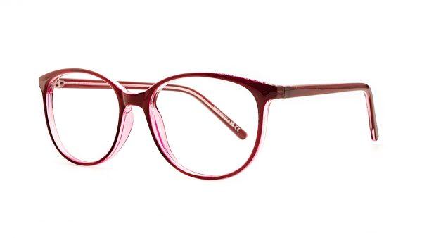 Brooksfield Red Acetate Glasses 264