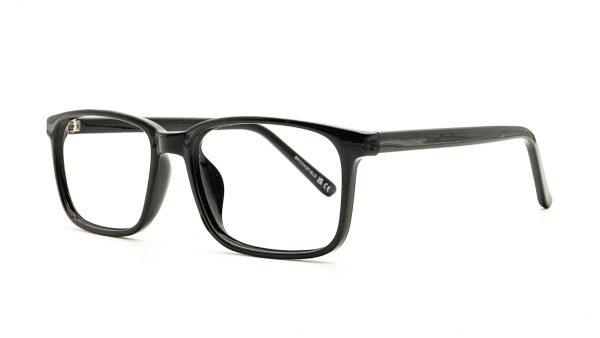 Brooksfield Black Acetate Glasses 267