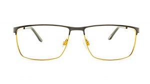 Jaguar Black Gold Metal Glasses Mod.33087-6100