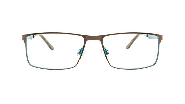 Jaguar Brown Metal Glasses Mod.33585-1077