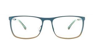 Jaguar Blue Metal Glasses Mod.33824-1037
