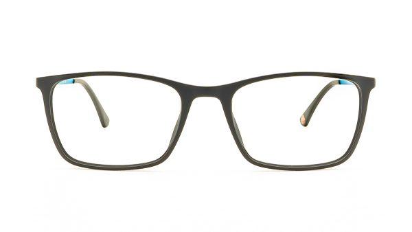 Jaguar Black Acetate Glasses Mod.36802-6100