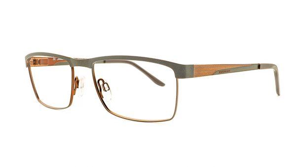 Jaguar Brown Metal Glasses Mod.33566-940