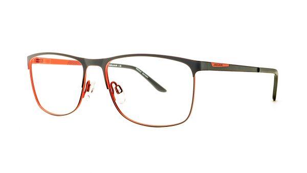 Jaguar Red Black Glasses Mod.33588-1068