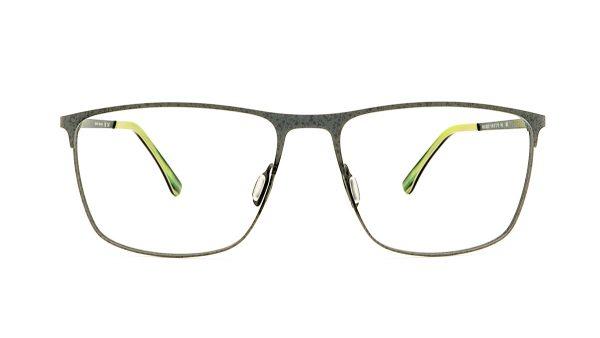 Jaguar Grey Metal Glasses Mod.33825-1146