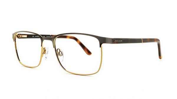 Jaguar Brown Metal Glasses Mod.33091-5100
