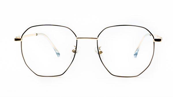 Kloss Olsen Black Gold Metal Glasses 1098