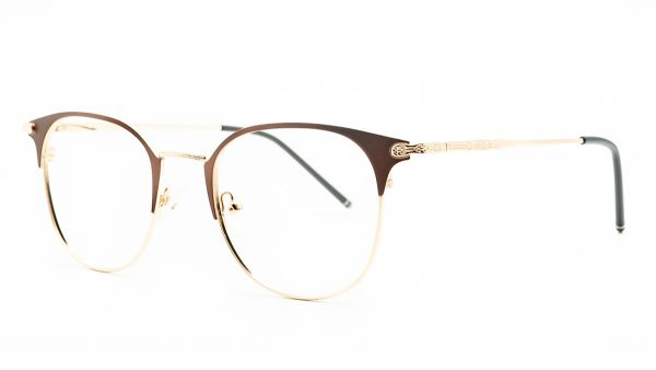 Kloss Olson Brown Metal Glasses RD901