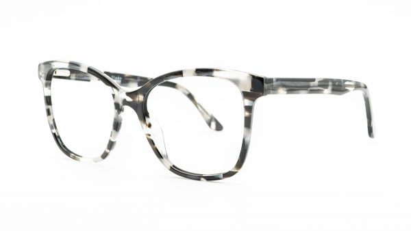 Kloss Olsen Black Plastic Glasses WD1151