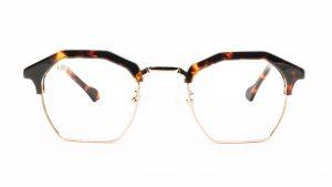 Kloss Olsen Tortoiseshell Plastic Gold Metal Glasses DG9990