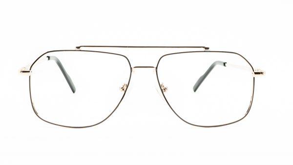 Kloss Olsen Black Gold Metal Glasses DS18076