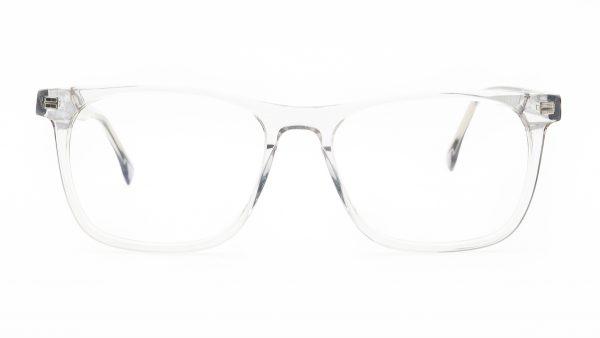 Kloss Olsen Grey Clear Plastic Glasses F2106
