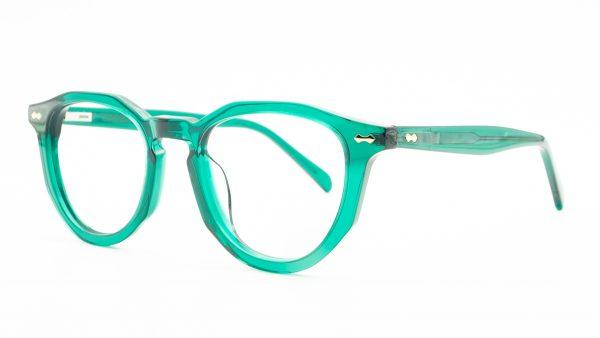 Kloss Olsen Green Plastic Glasses FG1123