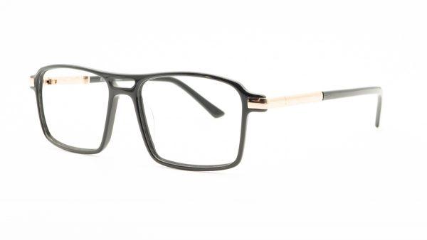 Kloss Olsen Black Acetate Glasses DC999