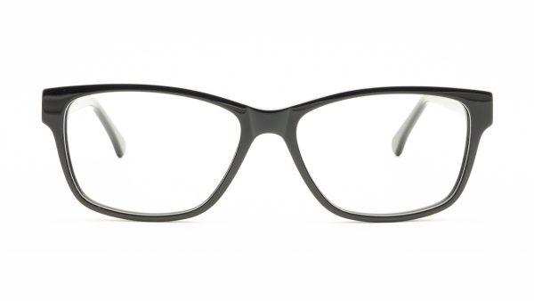 Kloss Olsen Black Acetate Glasses FG1166