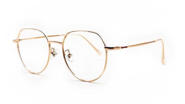 Kloss Olsen Rose Gold Metal Glasses 1090