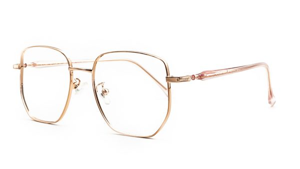 Kloss Olsen Rose Gold Metal Glasses 2407
