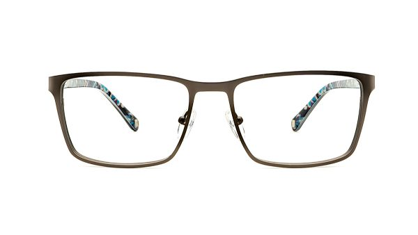 Ted Baker Gunmetal Metal Glasses Reeve 4251