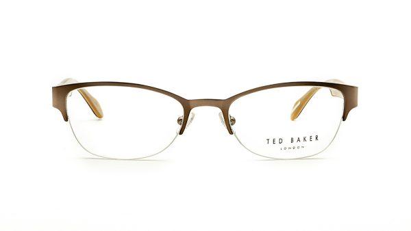 Ted Baker Gunmetal Metal Glasses Camden 2207
