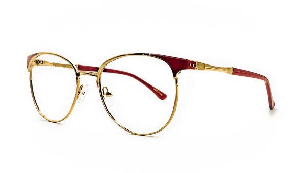 Ventice Red Metal Glasses Vd3008