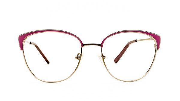 Ventice Pink Metal Glasses VP1549