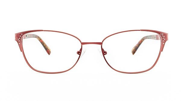 Ventice Red Metal Glasses VD3010