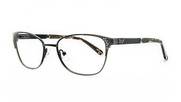Ventice Black Metal Glasses VP3010