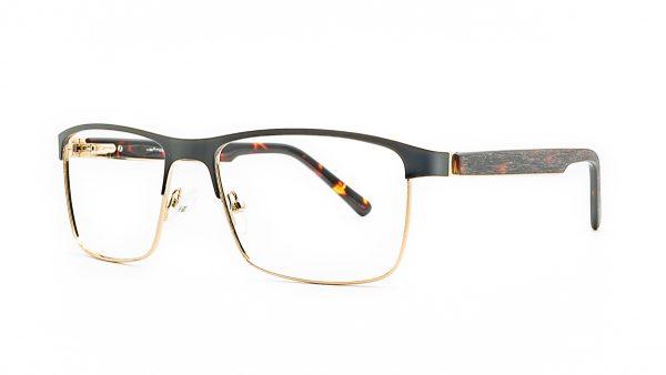 Ventice Black Metal Glasses VP445