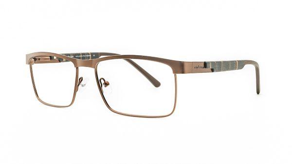 Ventice Brown Metal Glasses VE610
