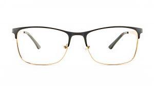 Ventice Black Metal Glasses VE609