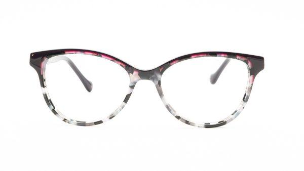 William Morris Purple Plastic Glasses LN50024
