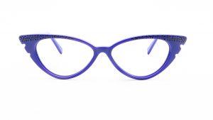 William Morris Purple Plastic Glasses 6975