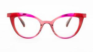 William Morris Pink Plastic Glasses BL040