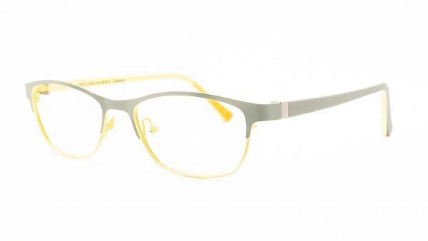 William Morris Grey Yellow Metal Glasses 3137