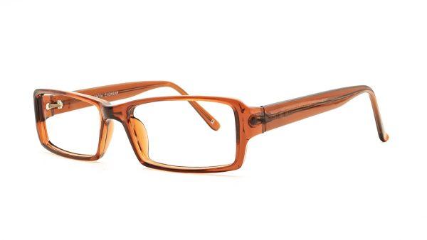 Matrix Brown Acetate Glasses 811